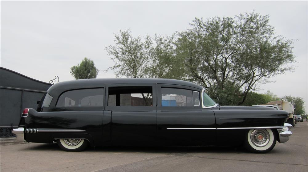 1956 CADILLAC CUSTOM HEARSE - Side Profile - 181314