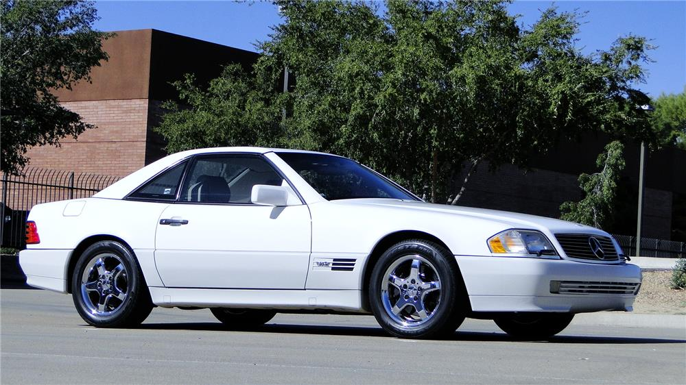 1994 MERCEDES-BENZ SL600 CONVERTIBLE - Side Profile - 181336