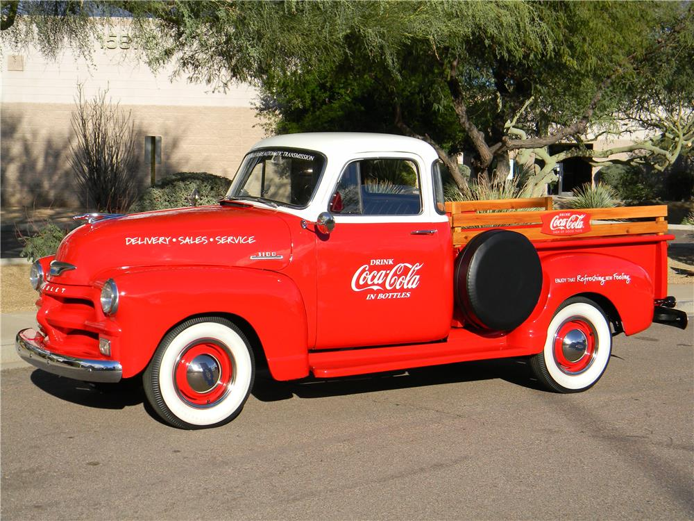 1954 CHEVROLET 3100 PICKUP - Side Profile - 181339