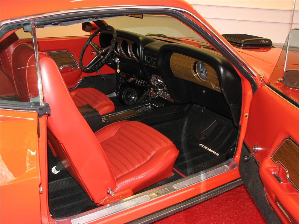 1970 FORD MUSTANG MACH 1 428 CJ FASTBACK - Interior - 181345