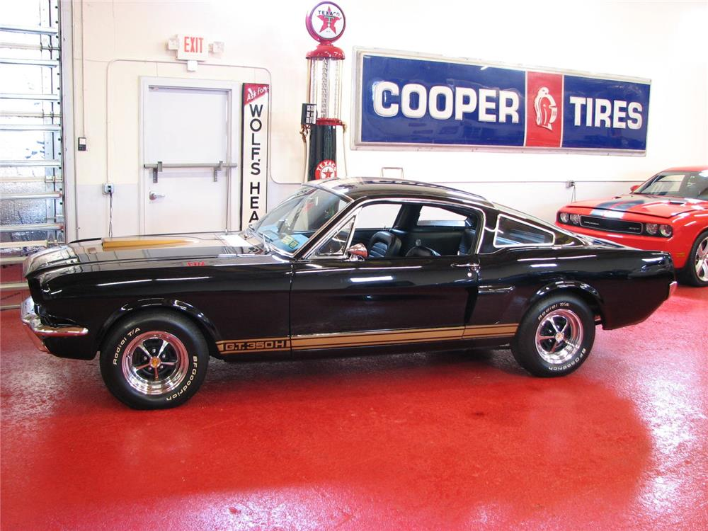 1966 SHELBY GT350H FASTBACK - Side Profile - 181351