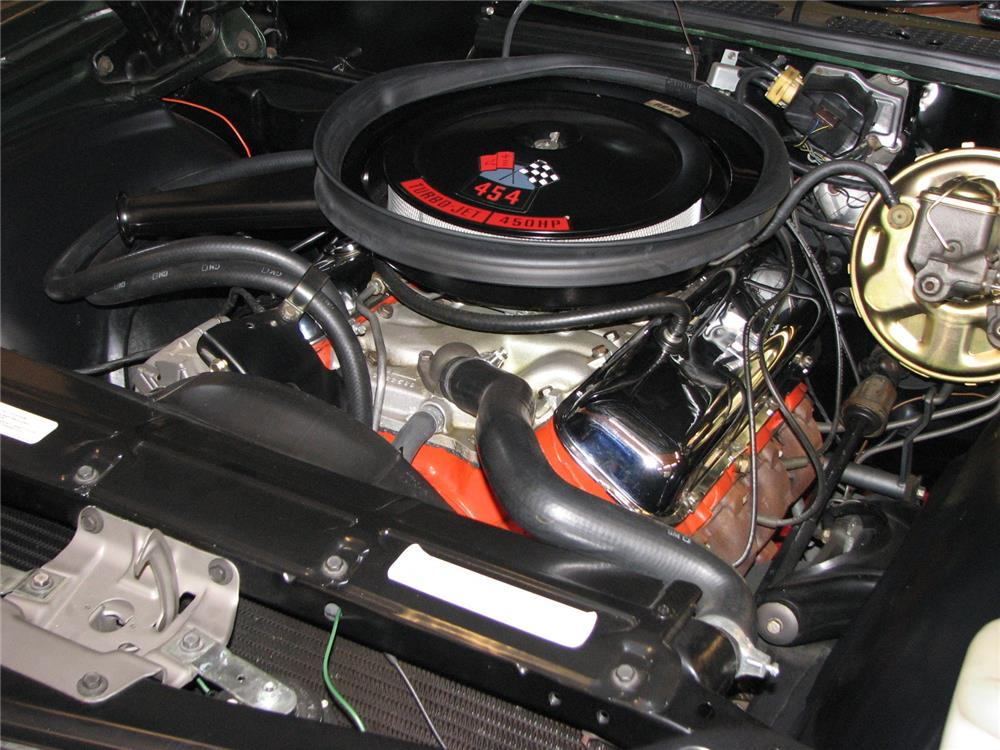 1970 CHEVROLET CHEVELLE LS6 - Engine - 181353