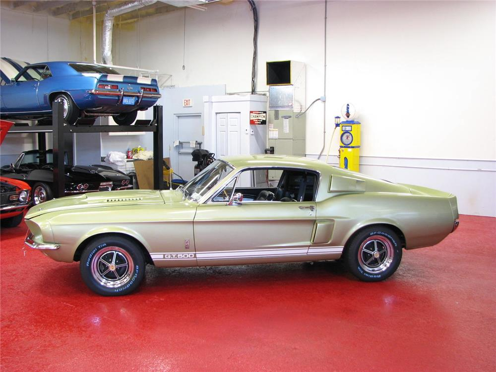 1967 SHELBY GT500 FASTBACK - Side Profile - 181354