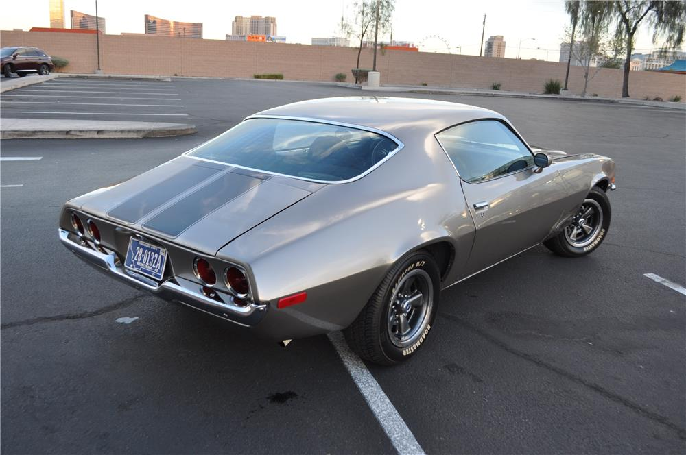 1973 CHEVROLET CAMARO CUSTOM - Rear 3/4 - 181360