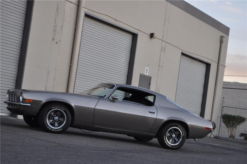 1973 CHEVROLET CAMARO CUSTOM - Side Profile - 181360