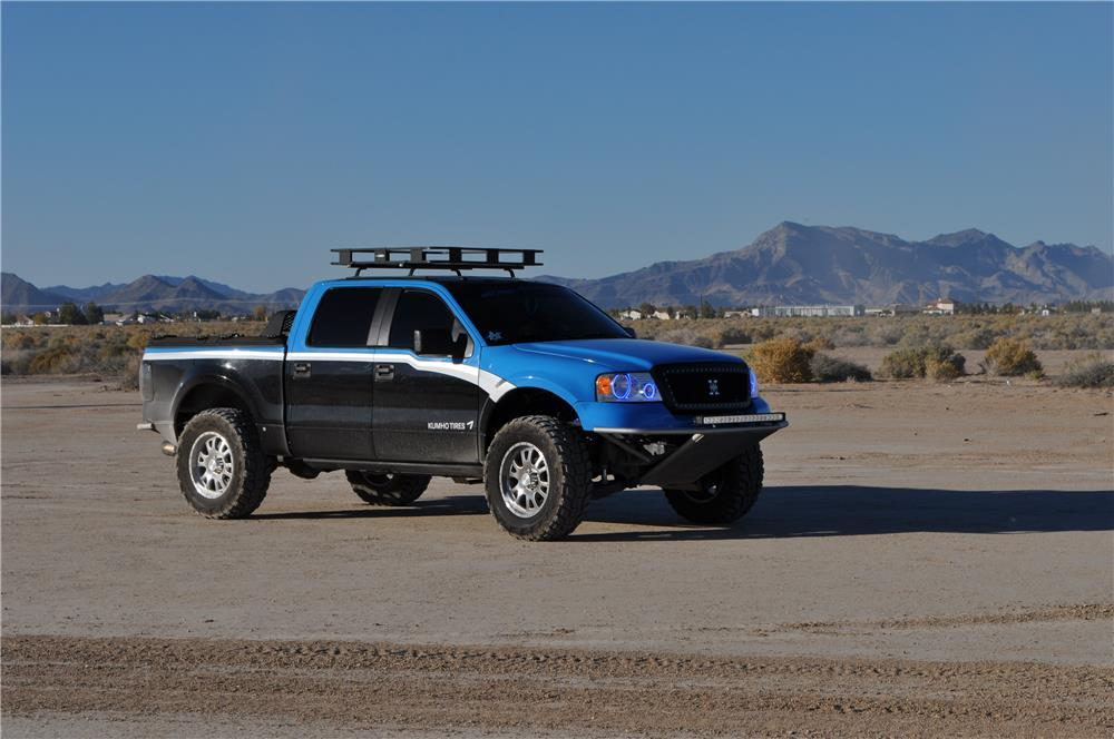 2007 FORD F-150 CUSTOM PICKUP - Side Profile - 181362