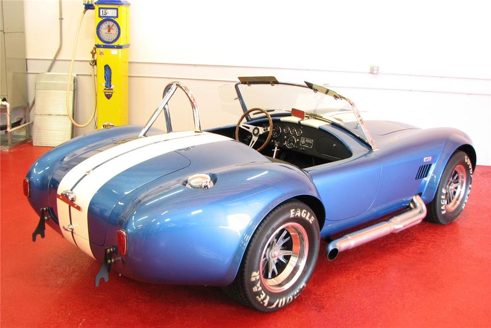 1965 SHELBY COBRA CSX 6000 ROADSTER - Rear 3/4 - 181364