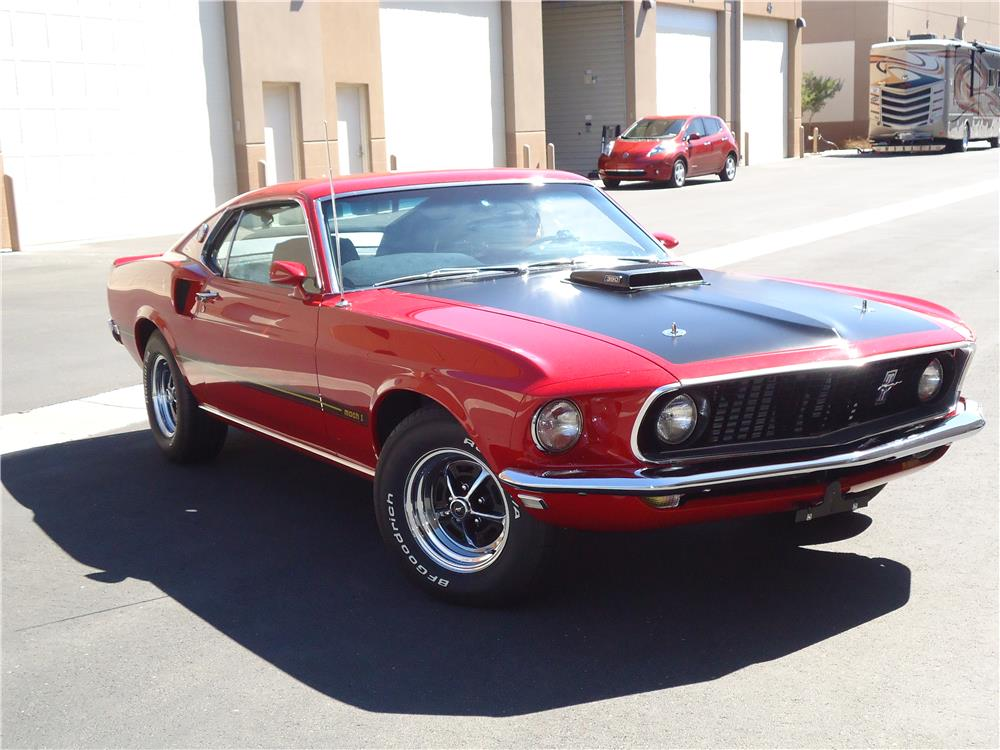 1969 FORD MUSTANG MACH 1 FASTBACK - Front 3/4 - 181365
