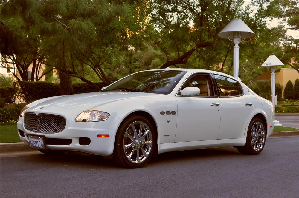 2007 maserati quattroporte 4 door sedan 181366. Black Bedroom Furniture Sets. Home Design Ideas