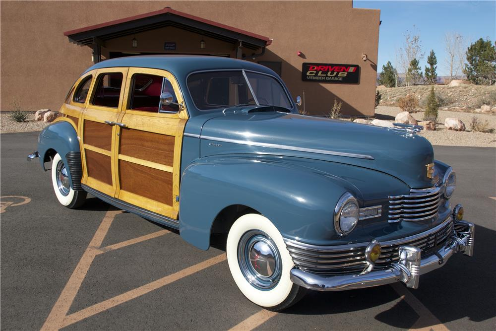 1947 NASH AMBASSADOR CUSTOM 4 DOOR SEDAN - Front 3/4 - 181369
