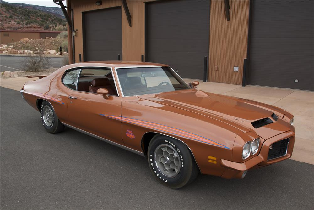 1971 PONTIAC GTO JUDGE 2 DOOR HARDTOP - Front 3/4 - 181372