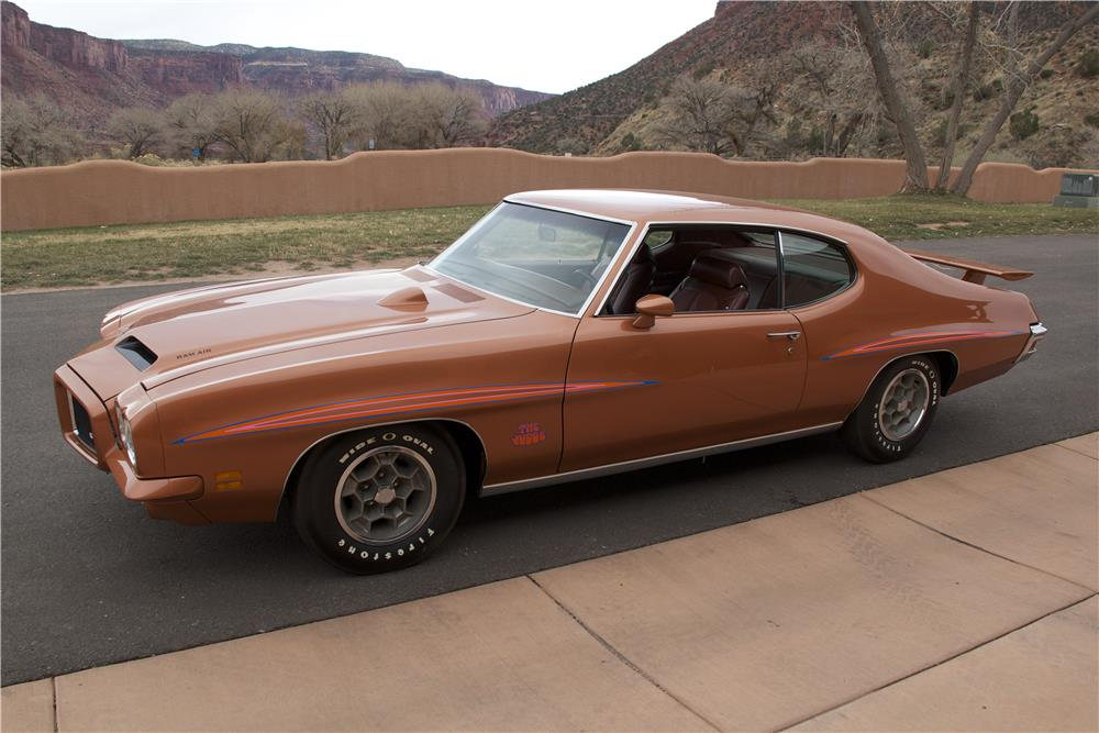 1971 PONTIAC GTO JUDGE 2 DOOR HARDTOP - Side Profile - 181372