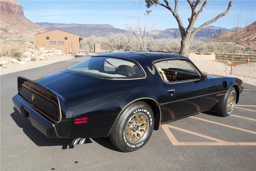 1981 PONTIAC FIREBIRD TRANS AM - Rear 3/4 - 181373