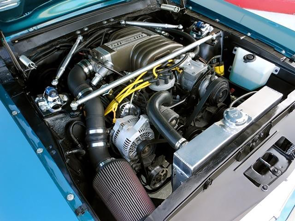 1968 FORD MUSTANG CUSTOM COUPE - Engine - 181389