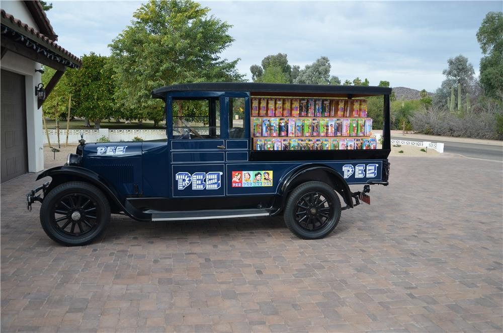 1927 DODGE GRAHAM CUSTOM CANDY TRUCK - Side Profile - 181393