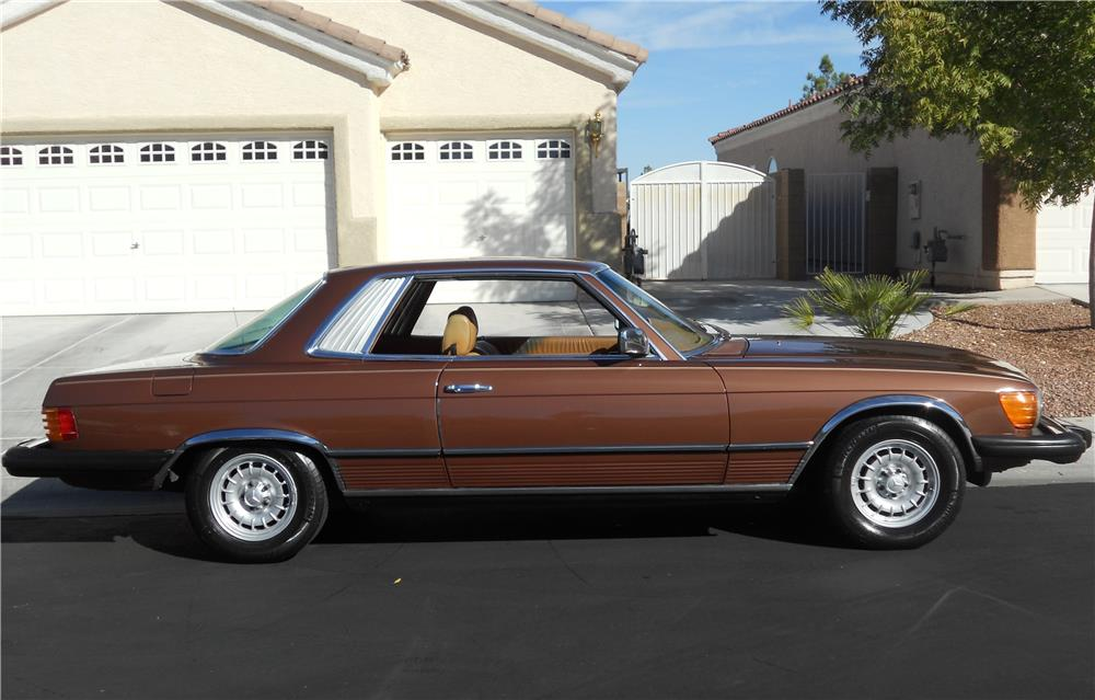 1978 MERCEDES-BENZ 450SLC 2 DOOR COUPE - Side Profile - 181394