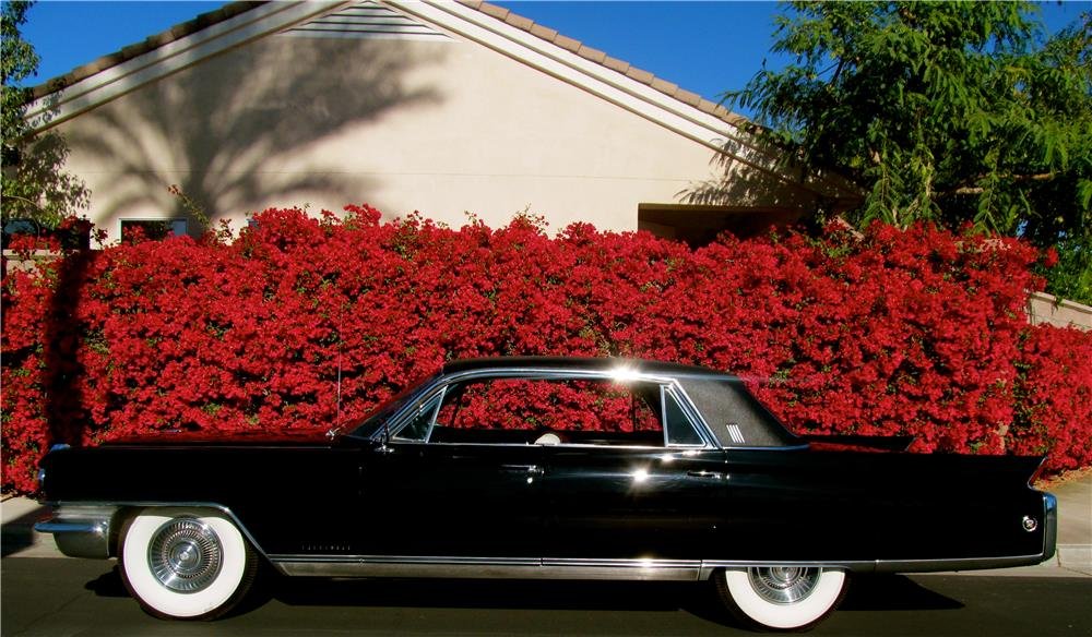 1963 CADILLAC FLEETWOOD BROUGHAM 4 DOOR HARDTOP - Side Profile - 181397