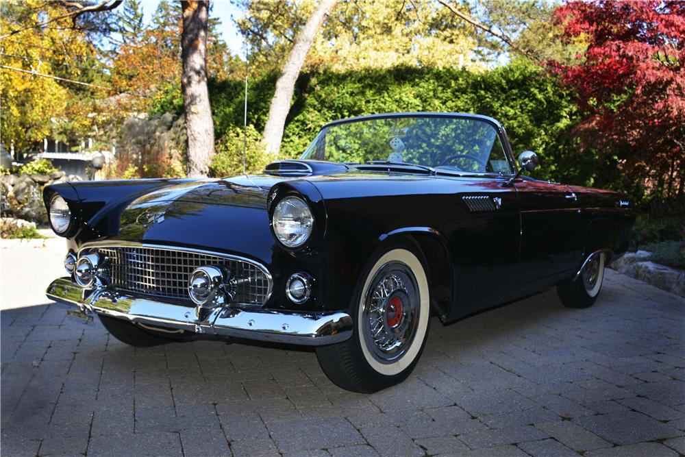 1955 FORD THUNDERBIRD CONVERTIBLE - Front 3/4 - 181400