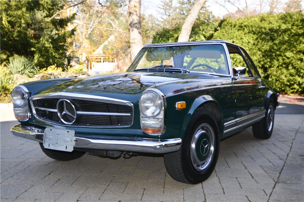 1970 MERCEDES-BENZ 280SL ROADSTER - Front 3/4 - 181401