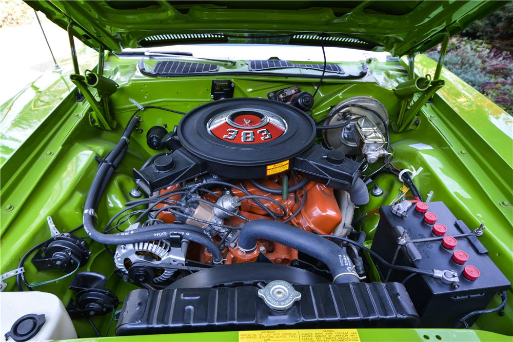 1971 PLYMOUTH BARRACUDA CONVERTIBLE - Engine - 181402