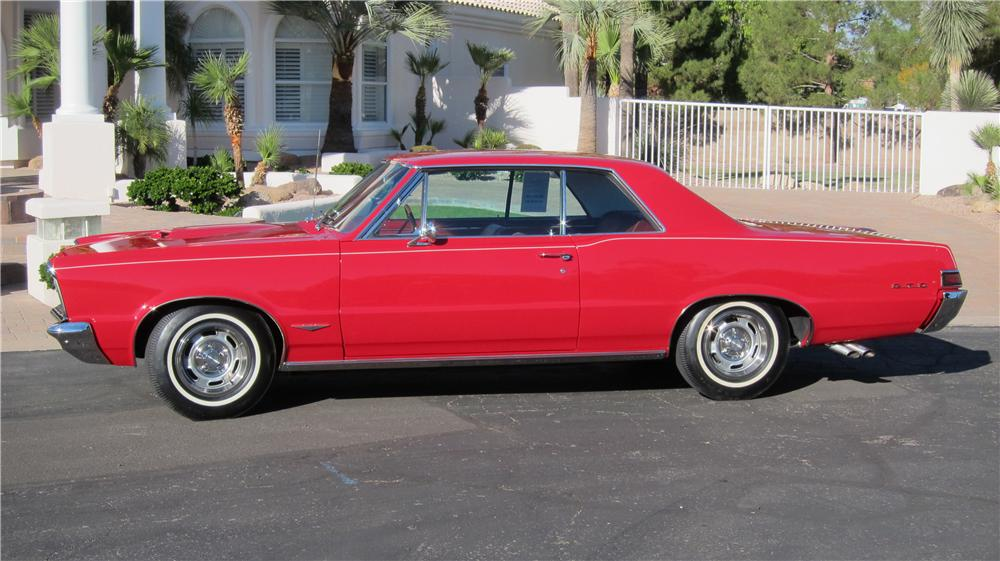 1965 PONTIAC GTO - Side Profile - 181404