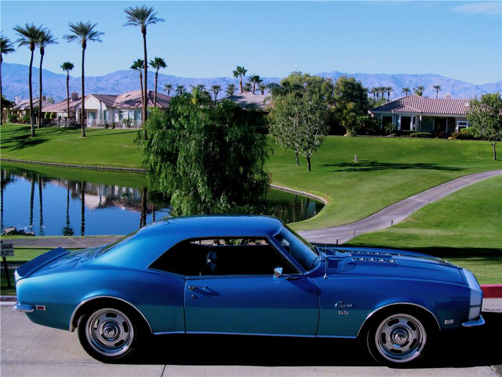 1968 CHEVROLET CAMARO RS/SS - Side Profile - 181411