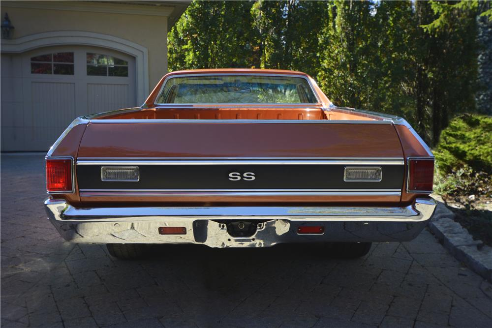 1971 CHEVROLET EL CAMINO SS PICKUP - Rear 3/4 - 181421