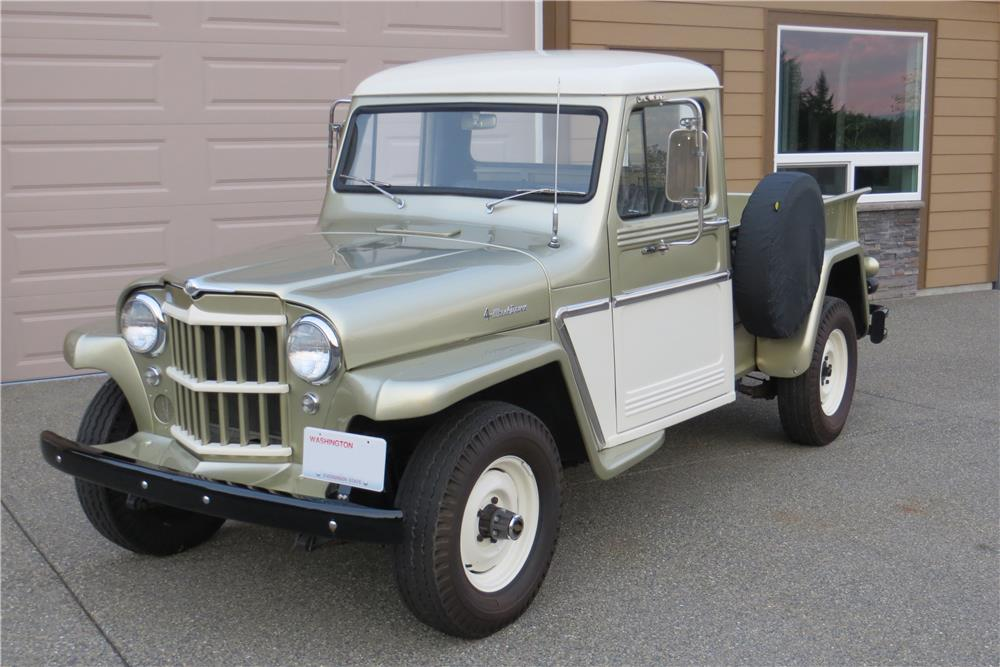 1962 WILLYS JEEP PICKUP - Front 3/4 - 181424