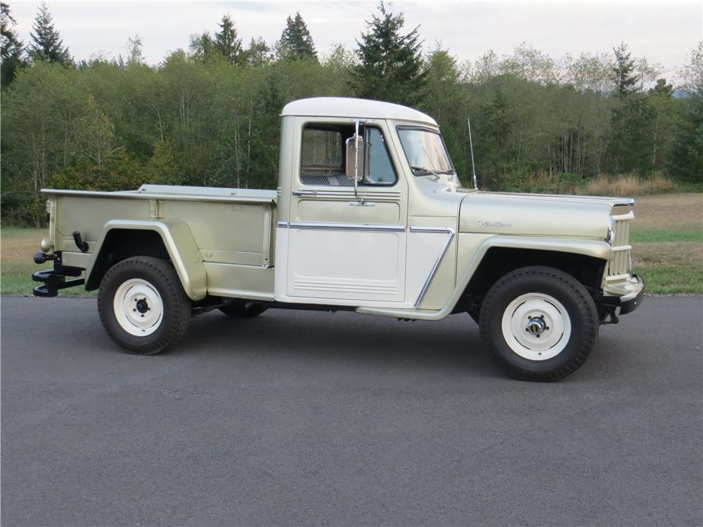 1962 WILLYS JEEP PICKUP - Side Profile - 181424