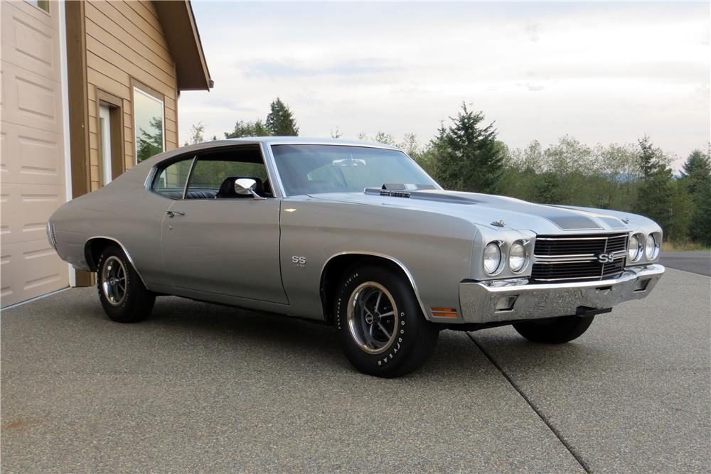 1970 CHEVROLET CHEVELLE SS 396 - Front 3/4 - 181427