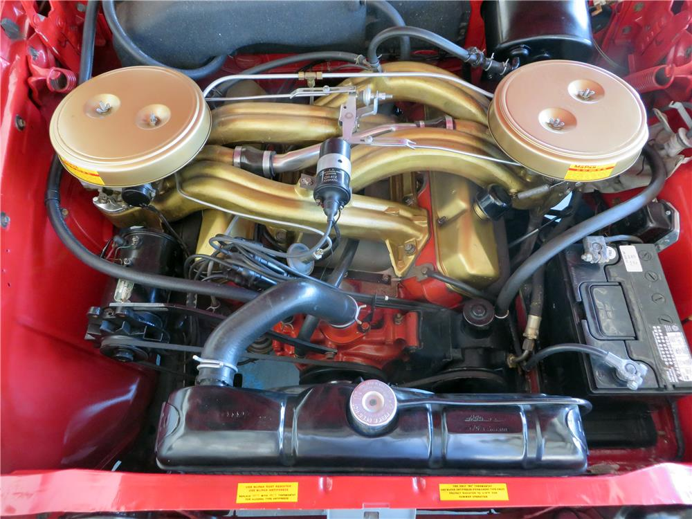 1960 PLYMOUTH FURY CONVERTIBLE - Engine - 181429
