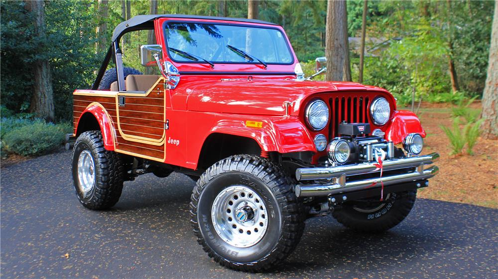 1984 JEEP CJ CUSTOM - Front 3/4 - 181437
