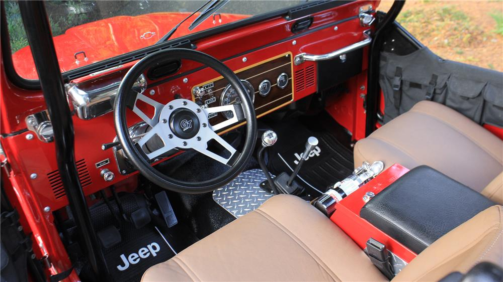 1984 JEEP CJ CUSTOM - Interior - 181437