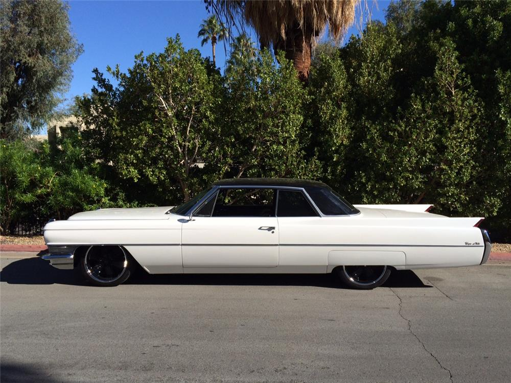 1964 CADILLAC DE VILLE CUSTOM COUPE - Side Profile - 181438