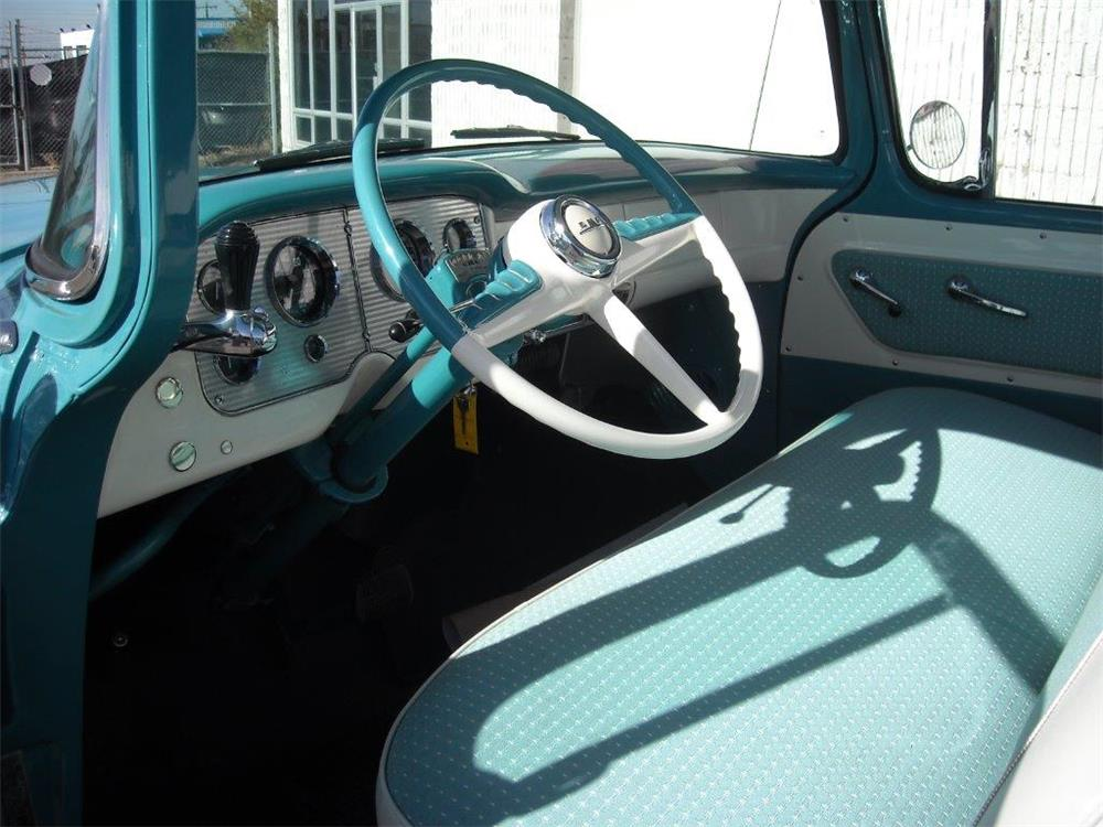 1955 GMC CAMEO PICKUP - Interior - 181453