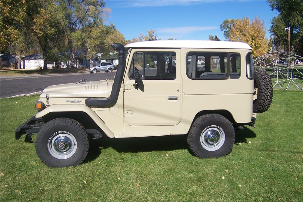 1980 TOYOTA LAND CRUISER 2 DOOR HARDTOP - Side Profile - 181455