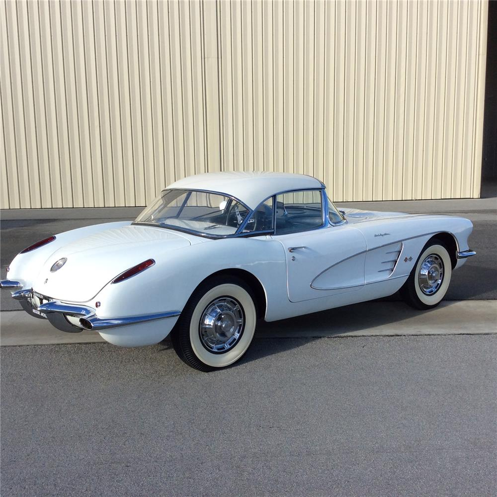 1960 chevrolet corvette convertible 181456. Black Bedroom Furniture Sets. Home Design Ideas