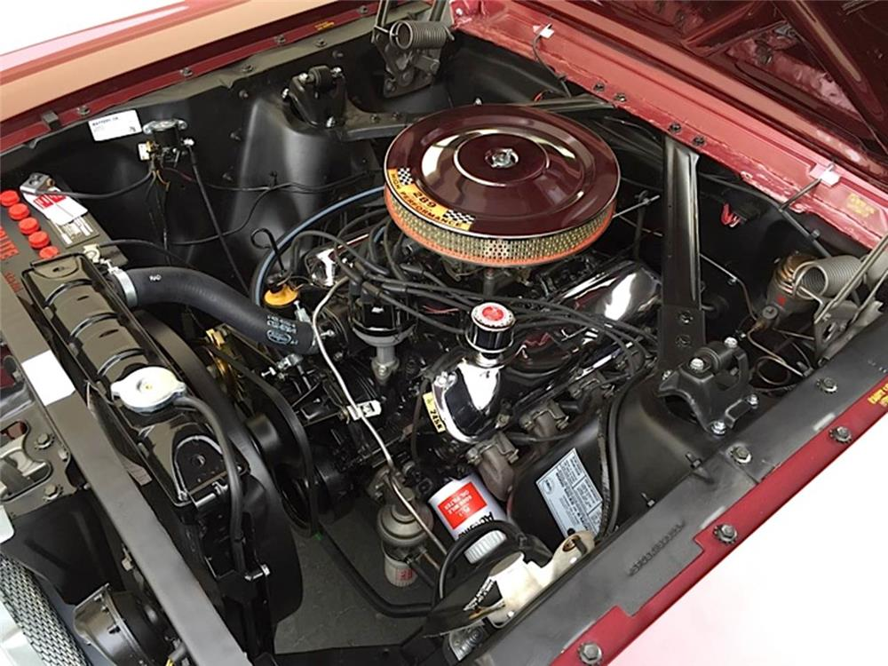 1965 FORD MUSTANG CONVERTIBLE - Engine - 181459