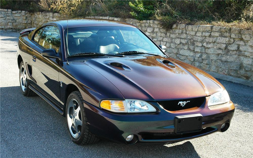 1996 FORD MUSTANG COBRA - Front 3/4 - 181461