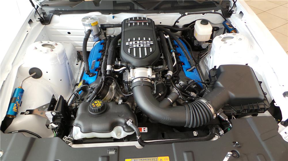 2014 FORD MUSTANG BOSS 302 RACE CAR - Engine - 181470