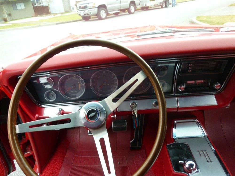 1967 CHEVROLET IMPALA SS 427 CONVERTIBLE - Interior - 181477