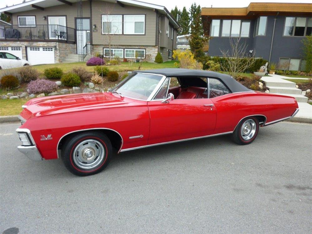 1967 CHEVROLET IMPALA SS 427 CONVERTIBLE - Side Profile - 181477