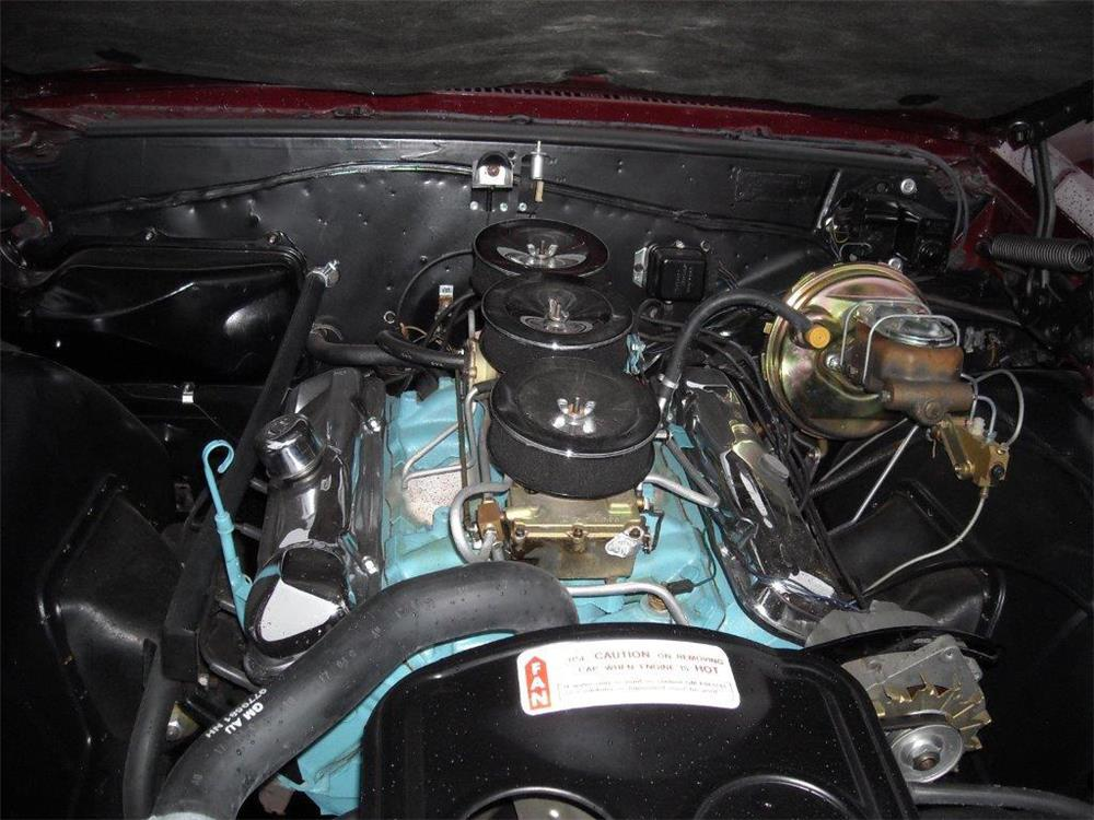 1965 PONTIAC GTO CONVERTIBLE - Engine - 181486