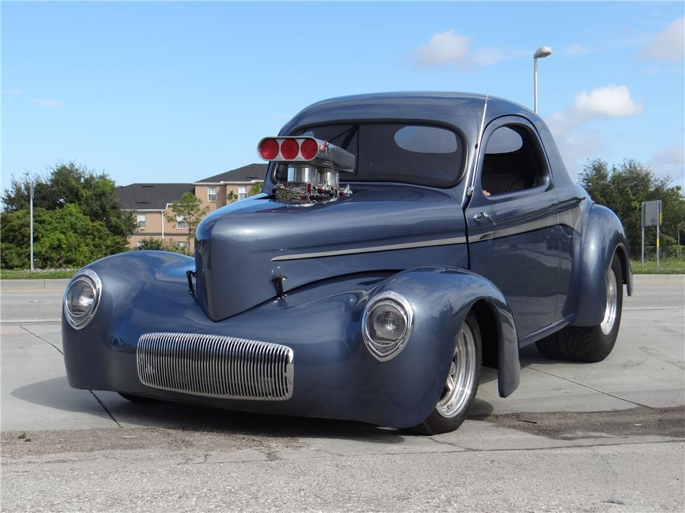 1941 WILLYS CUSTOM COUPE - Front 3/4 - 181491