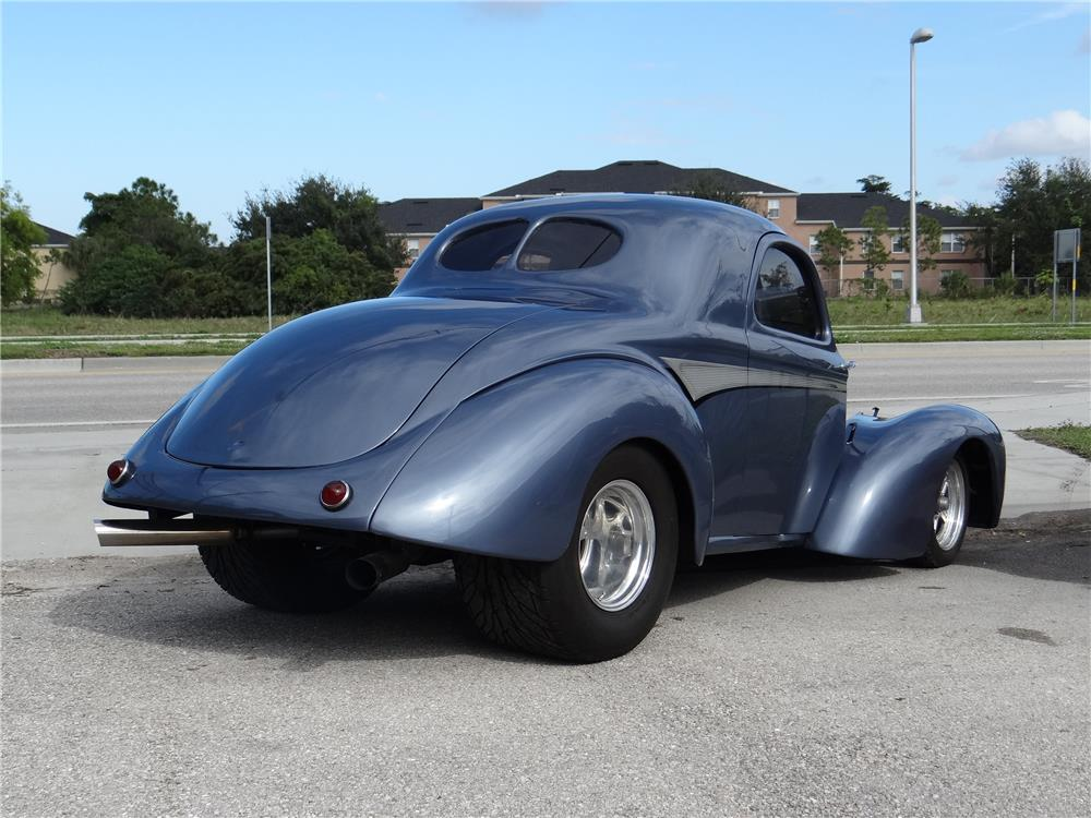 1941 WILLYS CUSTOM COUPE - Rear 3/4 - 181491