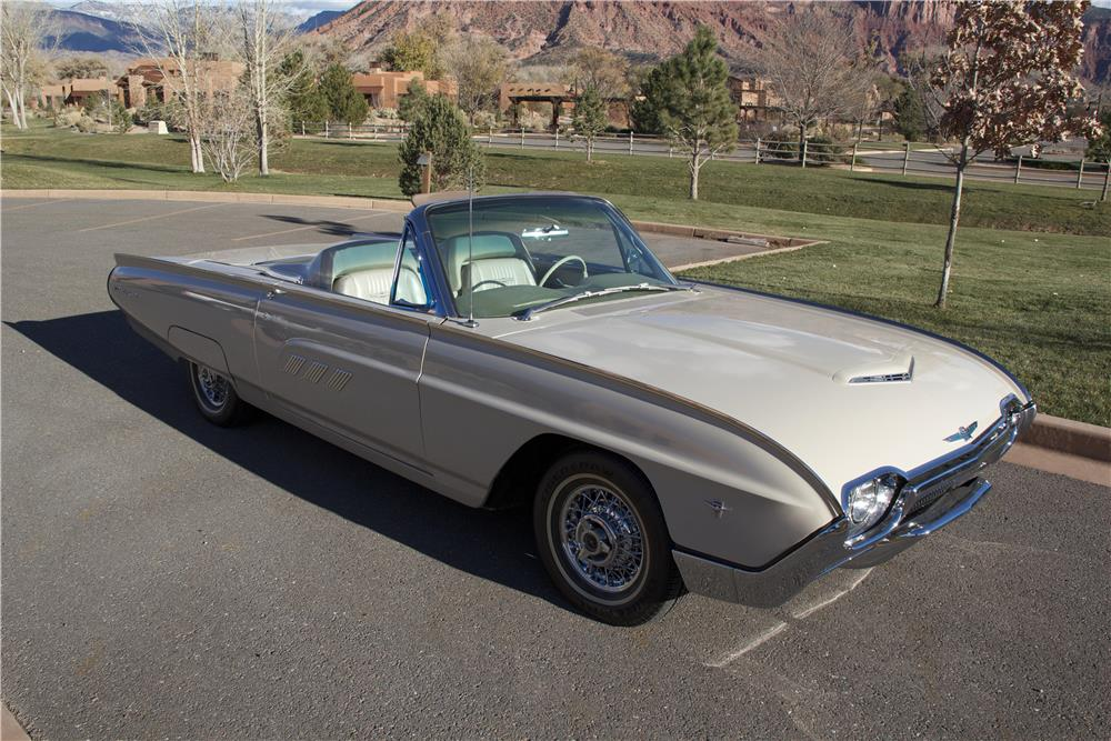1963 FORD THUNDERBIRD SPORTS ROADSTER - Front 3/4 - 181502