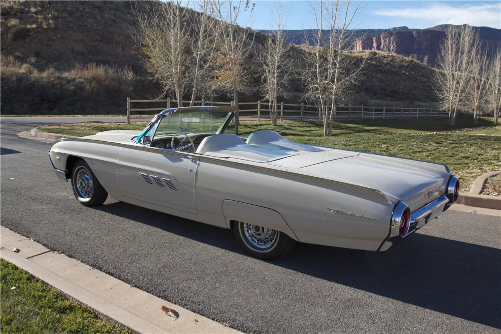 1963 FORD THUNDERBIRD SPORTS ROADSTER - Rear 3/4 - 181502