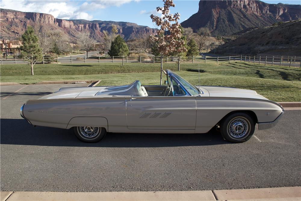 1963 FORD THUNDERBIRD SPORTS ROADSTER - Side Profile - 181502