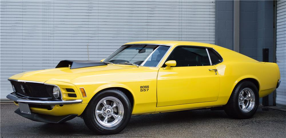 1970 FORD MUSTANG CUSTOM FASTBACK - Front 3/4 - 181526