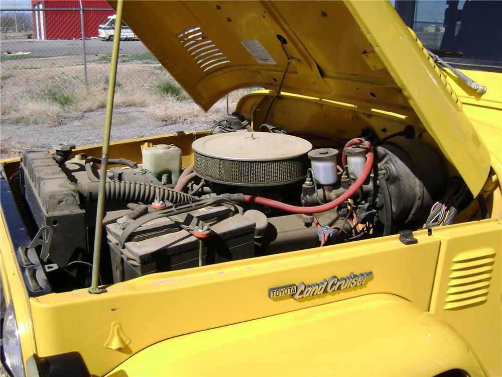 1977 TOYOTA LAND CRUISER FJ-40 CUSTOM SUV - Engine - 181532